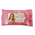 Shiny Day 10 Facial Cleansing Wipes Gently Clean And Removes Face And Eye Make-up-10Wipes